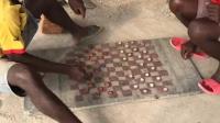 非洲平民的娱乐, 自制的国际象棋, 玩的很开心