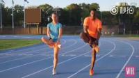 为喜欢跑步的同学奉上! 一套跑前热身拉伸动作!