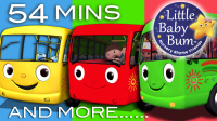 热闹的公车 合辑 Wheels On The Bus Compilation   Little Baby Bum 官方视频