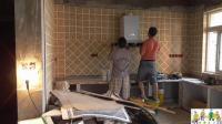 看了木工师傅按厨房抽油烟机, 没想到这么简单回去自己都能按