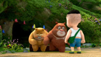 熊出没之熊熊乐园 夺宝熊兵熊大找蜂蜜第45期筱白解说