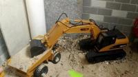 儿童游戏 挖掘机视频表演大全挖土机玩具视频 工程车