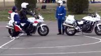 顶级车手考摩托车驾照, 看的我手心全是汗