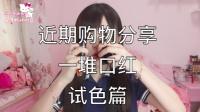 Sakura总-六月购物分享|口红试色篇