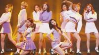 当中国风舞蹈在韩国团上跳