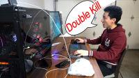 米哥Vlog-407:玩游戏的时候男人都变了,终于试玩了这台猛兽电脑主机