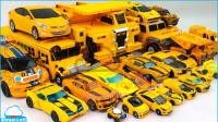 黄色超级变形金刚最强战士迷你特工队天威勇士车辆变换机器人汽车玩具【俊和他的玩具们