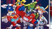 【肉肉】变形金刚救援机器人灾难来袭 18最后的战斗!