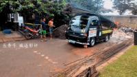 小型货车如何运送钢筋, 老司机都不敢轻易尝试!