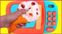 神奇厨房糖果牛奶冰淇淋制作 亲子手工美食玩具扮家家 263