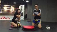 闪躲2(第一天训练)-柳州0基础自学搏击训练日记---拳击,格斗,自由搏击,泰拳,散打,mma,柔术