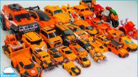 橙色变形金刚超级托宝兄弟斗龙战士30车辆自行车变形金刚机器人汽车【俊和他的玩具们