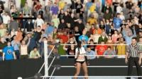 WWE2K17 黑色皮衣女 ryona