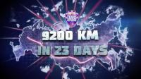 23天骑行9200公里, 穿越西伯利亚, 如此神骑!