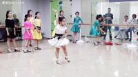 舞蹈少儿拉丁舞恰恰#愿宝儿明天学校期末考时细心专心用心