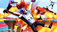 【屌德斯解说】 橄榄球大冲锋 模拟橄榄球运动员在各种奇葩赛场上横冲直撞怒怼僵尸!