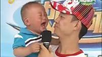 主持人抱着3岁萌娃 结果尿裤子了  这一幕看的能把人笑到肚子疼!