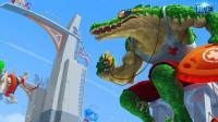鳄鱼五杀威武霸气-英雄联盟荒漠屠夫