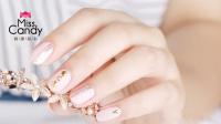一款能拉长手指的粉嫩甜心美甲 适合指甲盖宽的妹纸
