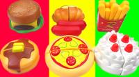 小猪佩奇蛋蛋小子蛋糕披萨切切乐 215