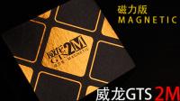 威龙GTS 2M 磁力版 魔域首款三阶磁力魔方