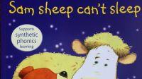 Sam Sheep Cannot Sleep 附讲解 自然拼读英文绘本
