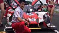 林志颖在浙江绍兴参加赛车比赛