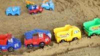 小挖掘机工作视频表演 儿童工程车玩具工作视频展示