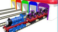 托马斯小火车玩具视频 汽车总动员