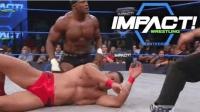 TNA重量级冠军赛 鲍比莱斯利空中飞冲肩绝杀德里