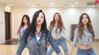 韩国女子组合练习室劲爆热舞, 火辣舞姿让人心动!