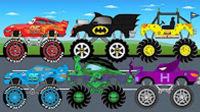 工程玩具车 水泥搅拌车 最新挖掘机工作视频 迷你小卡车