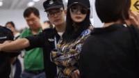 杨幂被赶出机场, 场面尴尬, 粉丝表示不满