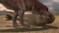 白垩纪恐龙公园之小特暴龙成长记动漫 特暴龙妈妈VS霸王龙致死 侏罗纪恐龙格斗 恐龙世界
