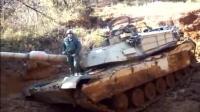 M1坦克的发动机启动时的声音太销魂了 绝不是柴油机能比的