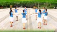 广场舞格桑拉圈圈舞蹈版本 最新藏族舞示范教学 民族交谊舞展示