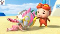 猪猪侠之超星萌宠终极决战梦想的力量第15期:小呆呆和冰封鹿 永哥玩游戏