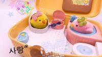 【玩具侠】韩国mimi world小鸡的家汽车总动员海底小纵队