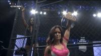 TNA女子摔角 盖尔金 布鲁克爆发 铁笼里虐翻泰伦