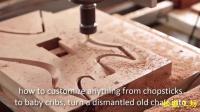 木工专业数控车床, 雕刻精品