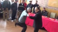 吴式太极拳名家马长勋在北京传统太极拳健身推手研究社上推手, 太极劲发挥的淋漓尽致!