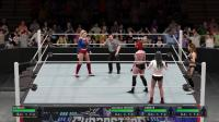 【非R爱好慎入】WWE2K17 女超人 ryona