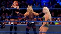 WWE女子双打赛, 贝基林奇和夏洛特VS娜塔莉亚和塔
