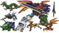 神兽金刚青龙再现五合体神兽变形机器人守护地球