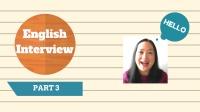 基础初级英语-职业英语-实用英语-求职面试英语3