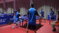 乒乓球双打比赛 3300分段决赛