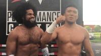 中国之星王彦博搭档无敌荷西 NXT首秀取得胜利
