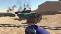 皮卡解说搞笑独立游戏《战地模拟器》: 轰炸机坦克炸翻天