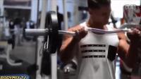 兽人健身: 肌肉男肌肉训练锻炼腹部肌肉的动作背部肌肉锻_高清
