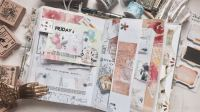 【玛嗒嗒手帐】junk journal with me—MOOD家新品素材